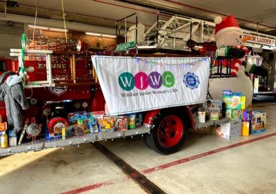 Big Success -Windsor Junior Women's Club - Fill The Fire Truck Drive