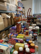 Windsor Lions Food Drive Collection!