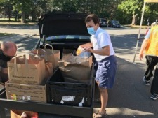 Lion's Club Drive-Thru, Non-Contact Food Collection